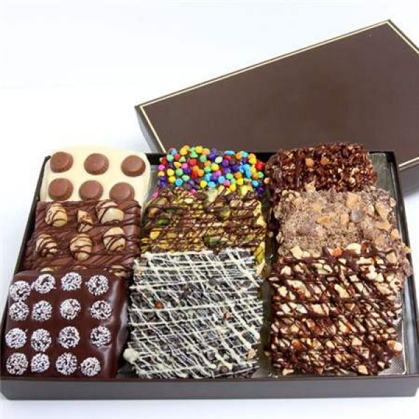 Deliciosa caja de chocolate
