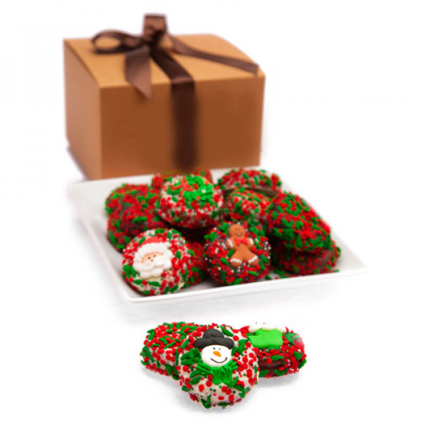 Belga Chocolate Navidad Oreo