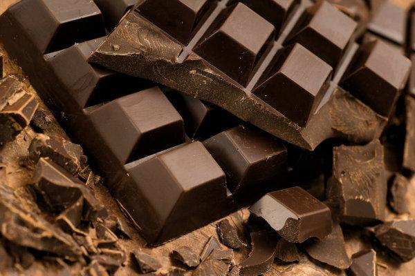 El chocolate es un alimento estimulante