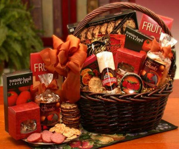 Canasta de regalo gourmet