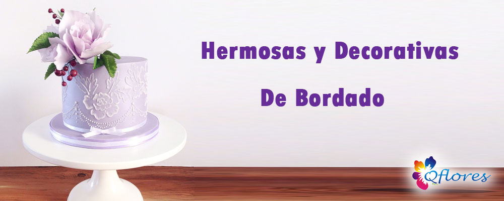 Hermosas y Decorativas De Bordado