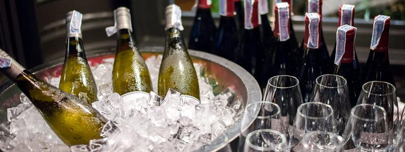 Sirva el vino a la temperatura adecuada