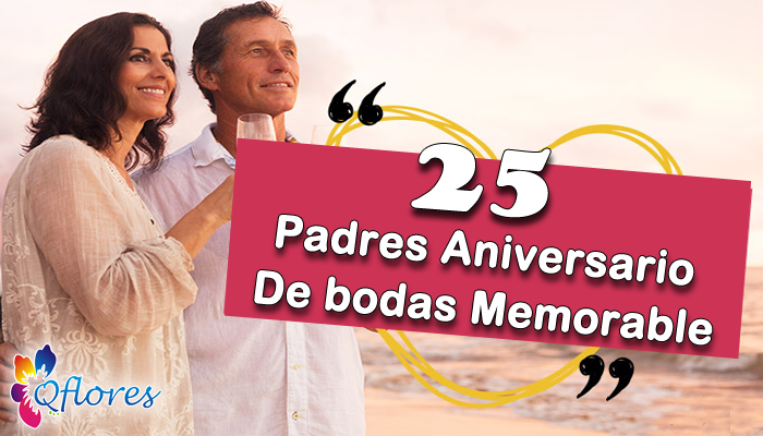aniversario de bodas de los padres