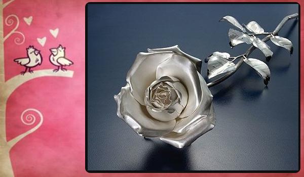 Rosa de plata
