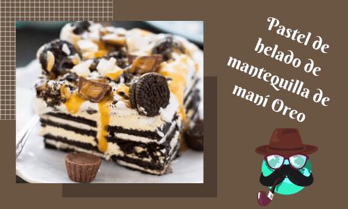 penutbutter oreo cake