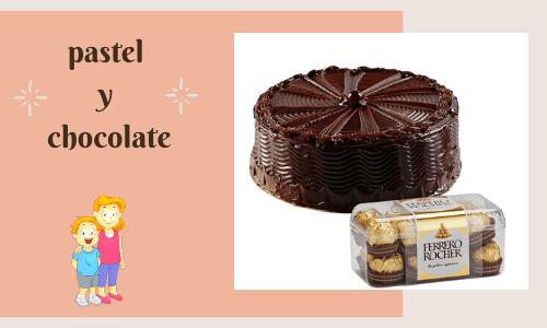 cake & chcolate