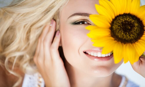 sunflower for skin glow