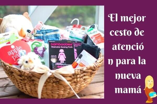 7 canasta de cuidado perfecto para la nueva mamá