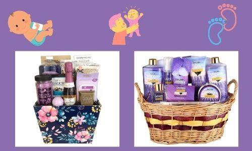 bath and spa basket