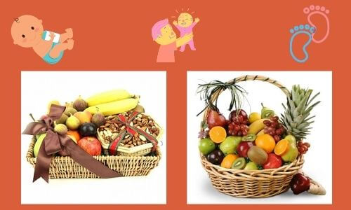 fruits and nuts basket