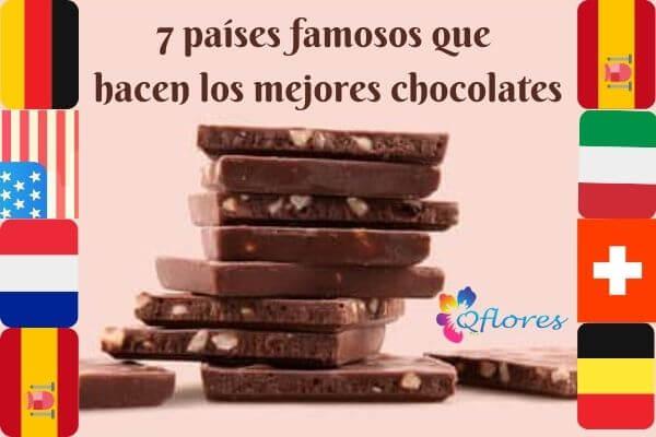 7 países famosos que hacen los mejores chocolates
