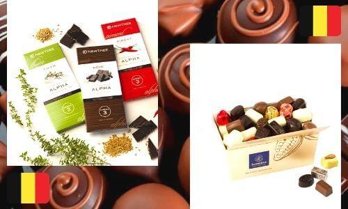 chocolates in belguim