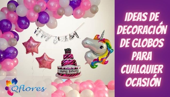 Haz que tu celebración sea impresionante con la decoración de globos