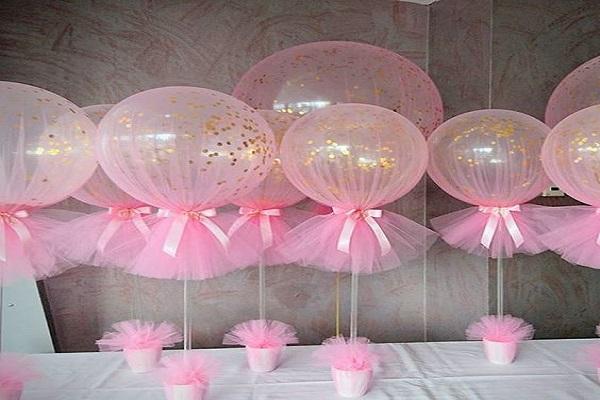 wrap the balloons