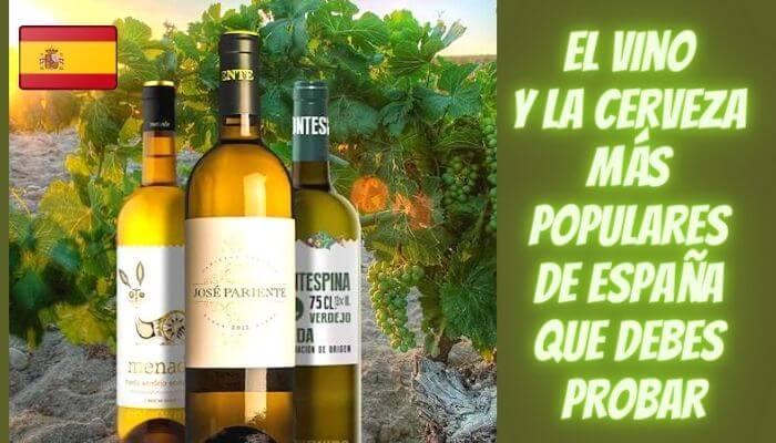 8 vinos y cervezas más populares de España que debes probar