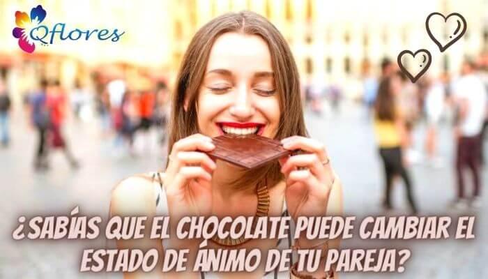 ¿Sabías que el chocolate puede cambiar el estado de ánimo de tu pareja?