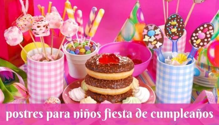 Deliciosas ideas de postres de cumpleaños para la fiesta de cumpleaños de los niños