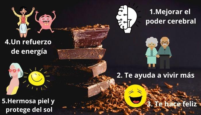 benefits of chocolates