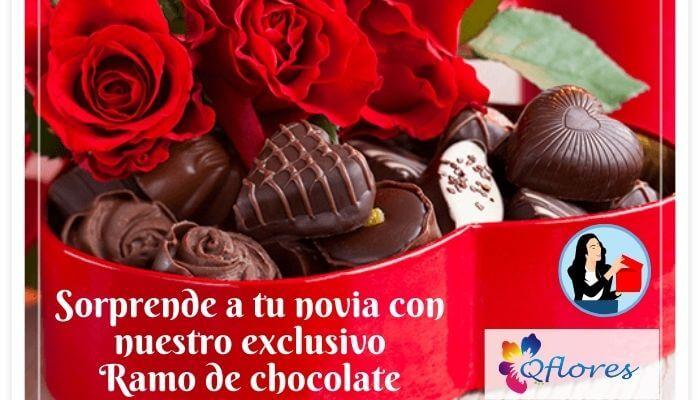 Sorprende a tu novia con nuestro exclusivo ramo de chocolate