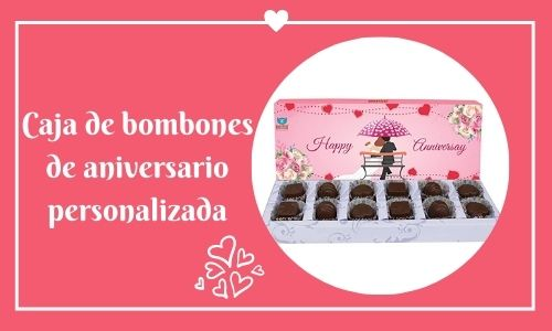 anniversary chocolate box