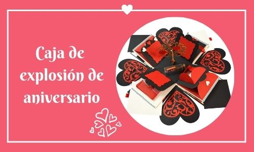 anniversary explosion box