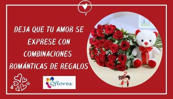 Deja que tu amor se exprese con combinaciones románticas de regalos