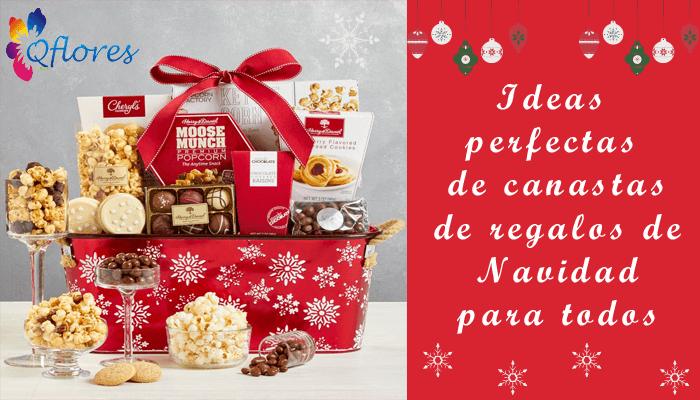 Mire aquí: ideas perfectas de canastas de regalos de Navidad para todos