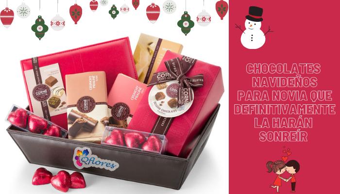 Chocolates navideños para novia que definitivamente la harán sonreír