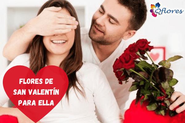 Flores de San Valentín: el ramo de flores más romántico para ella