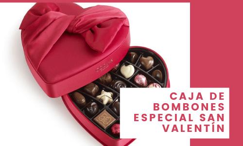 Caja de bombones especial de San Valentín