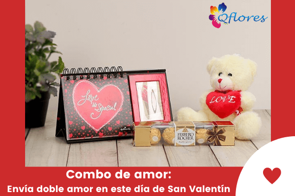 Combo de amor: Envía doble amor en esto Día de San Valentín
