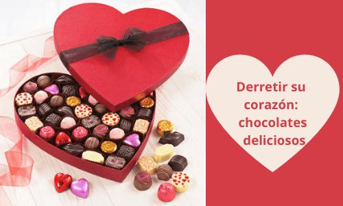 Derretir su corazón: Chocolates deliciosos