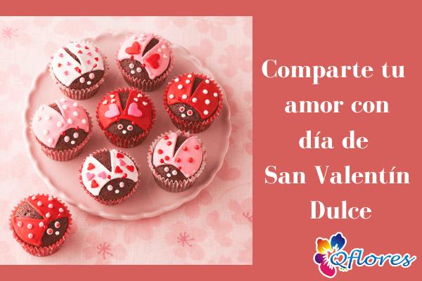 Comparte tu amor con día de San Valentín Dulces y golosinas