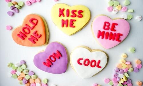 Día de San Valentín Galletas de corazón