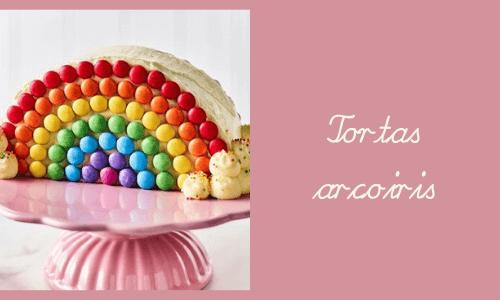 Tortas de arcoíris