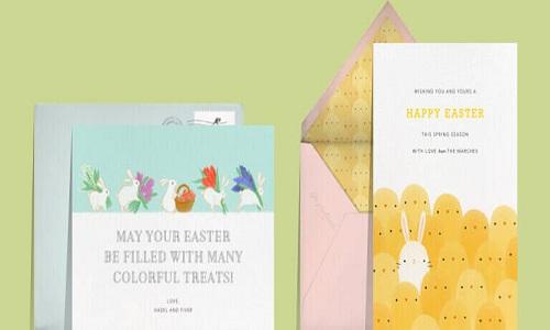 Envíe tarjetas de Pascua por correo electrónico