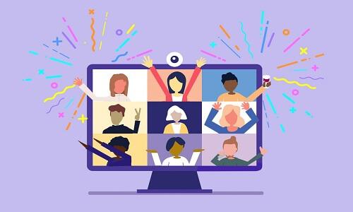 Hangout virtual con familiares y amigos