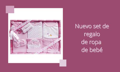 Nuevo set de regalo de ropa de bebé