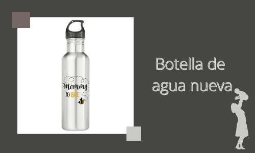 Botella de agua nueva
