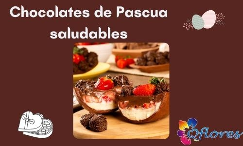 Chocolates de Pascua saludables