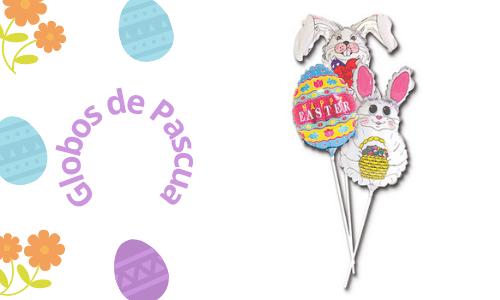 Globos de huevos de Pascua