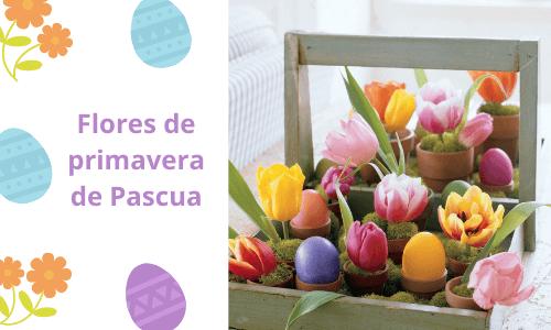 Flores de primavera de Pascua