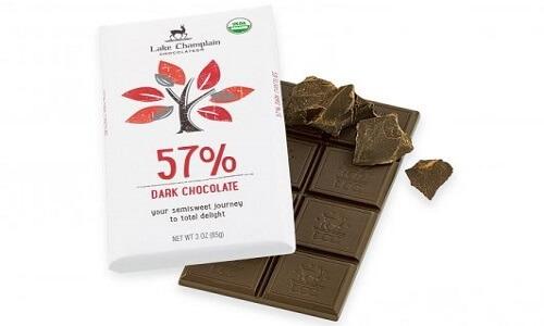 Chocolate negro y chocolate orgánico