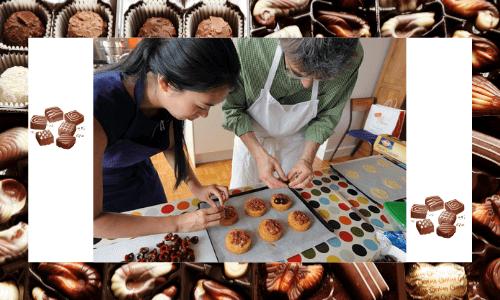 Clase de cocina de postres y repostería