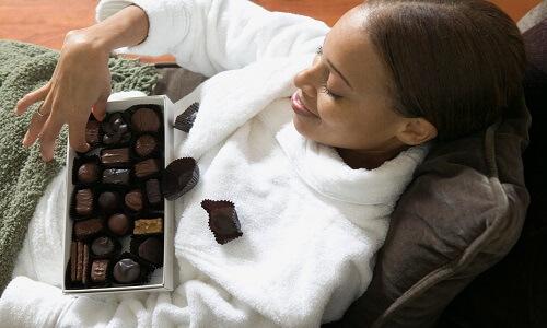 Mamá adicta al chocolate