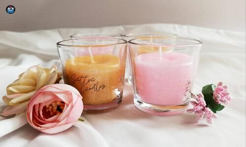 Juego de velas perfumadas