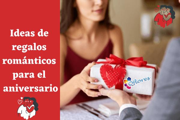 Ideas de regalos románticos para regalar a su Socio en aniversario