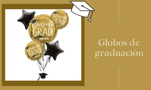 Globos de graduación