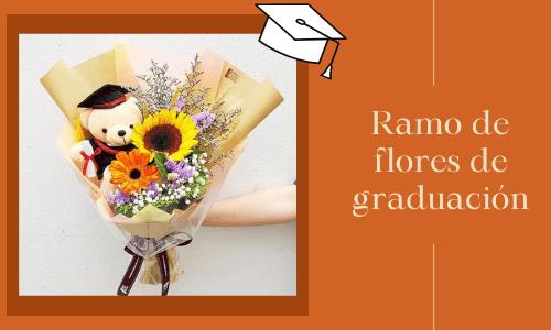 Ramo de flores de graduación