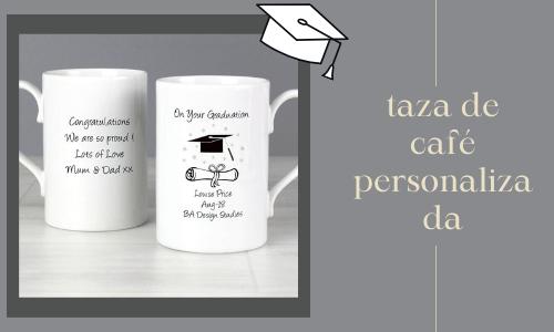 Taza de café personalizada